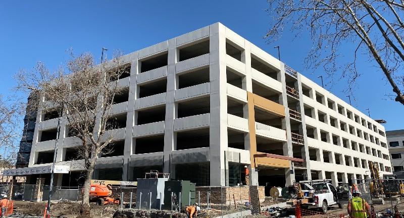 Santa Rosa Hospital & Parking